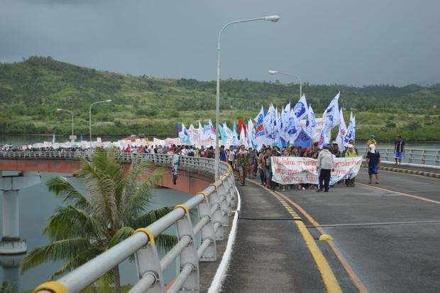 san juanico protest